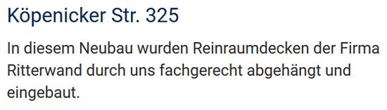 Ausbauspezialisten in 10178 Kleingarten Grünbergallee (Berlin)