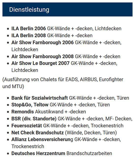 Zargen und Türblätter aus Metall aus  Bohnsdorf (Berlin)